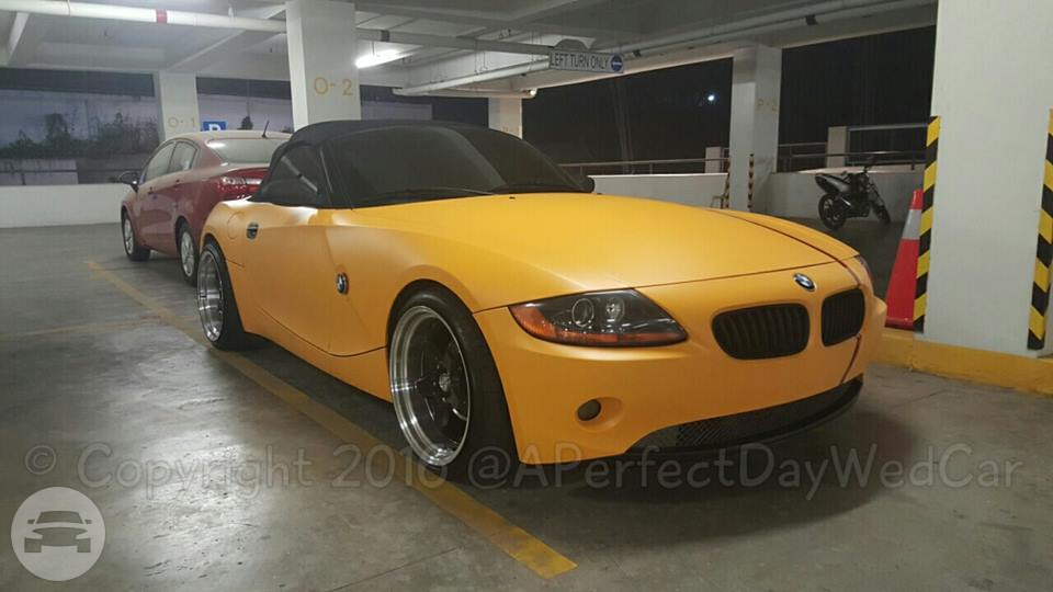 BMW - Yellow Sedan  / Makati, Metro Manila   / Hourly ₱0.00