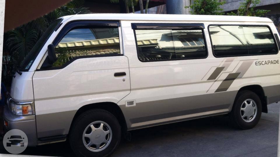 Nissan Urvan Escapade Van Ml Van Rental Online Reservation