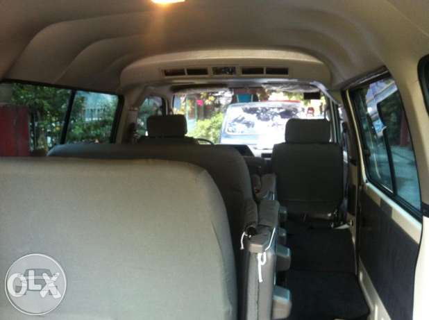 Nissan Urvan NV350 Van  / Quezon City, Metro Manila   / Airport Transfer ₱3,500.00  / Daily ₱4,500.00
