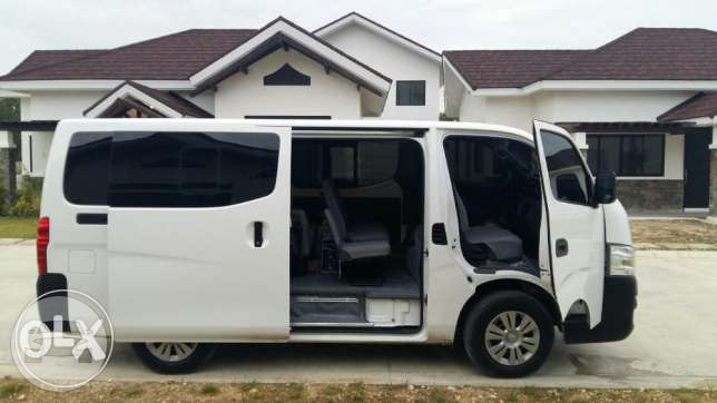 Nissan NV350 2016 Van  / Cebu City, Cebu   / Hourly ₱0.00