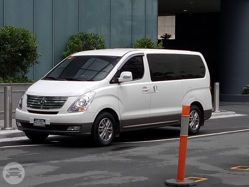 Hyundai Grand Starex Van Alvin Ramos Ligon Van For Rent