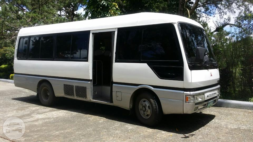 Mitsubishi Coaster Bus Coach Bus  / Quezon City, Metro Manila   / Hourly ₱0.00
