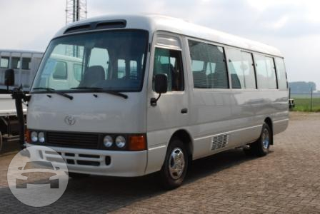 Toyota Coaster (29 Passengers) Coach Bus  / Quezon City, Metro Manila   / Hourly ₱1,375.00