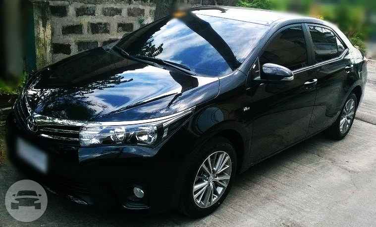Toyota Vios - Black Sedan  / Manila, Metro Manila   / Hourly ₱0.00