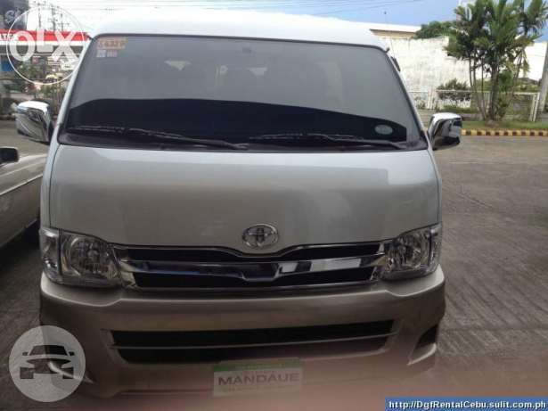 Toyota Grandia Van Van  / Cebu City, Cebu   / Airport Transfer ₱1,200.00  / Daily ₱3,500.00