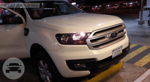 Ford Everest Van  / Davao City, Davao del Sur   / Hourly ₱400.00  / Airport Transfer ₱3,000.00  / Daily ₱4,500.00