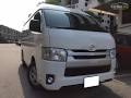 Toyota Hiace Commuter Van Van  / Cebu City, Cebu   / Airport Transfer ₱1,800.00  / Daily ₱3,500.00