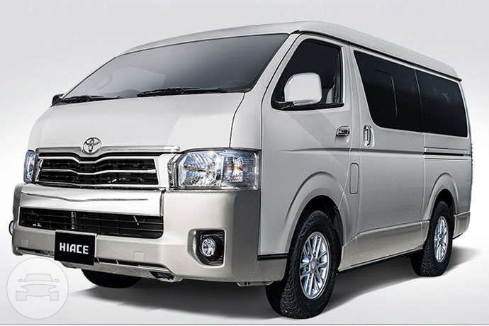 Toyota Hi-Ace Van / Cebu City, Cebu   / Hourly ₱350.00  / Airport Transfer ₱1,500.00