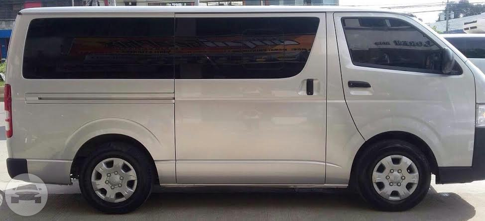 Toyota Commuter Van Van  / Mandaue City, Cebu   / Airport Transfer ₱1,000.00  / Daily ₱3,500.00