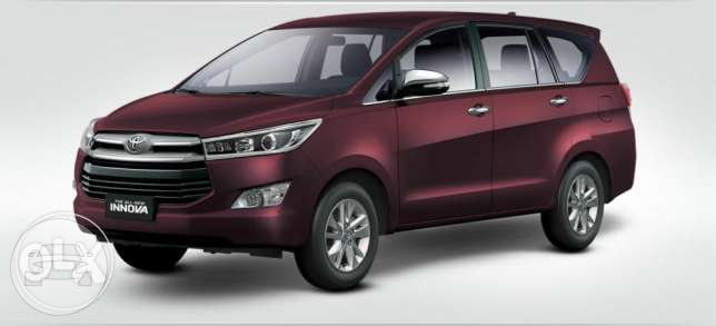 Toyota Innova Blackesh Red Van  / Bacolod, Negros Occidental   / Daily ₱2,500.00