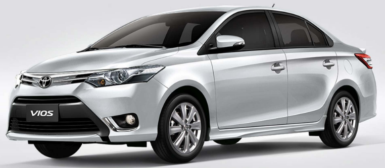 Vios Sedan / Lapu-Lapu City, Cebu   / Daily ₱2,500.00
