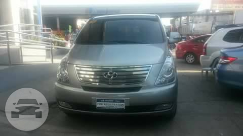 Hyundai Grand Starex Van / Mandaue City, Cebu   / Airport Transfer ₱1,000.00  / Daily ₱3,500.00