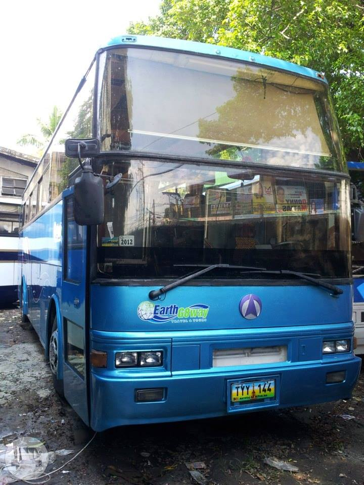 Tourist Bus Coach Bus  / Quezon City, Metro Manila   / Daily ₱11,000.00