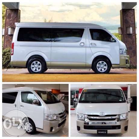 Toyota Grandia GL 2015 Van  / General Santos City, South Cotabato   / Airport Transfer ₱1,500.00  / Daily ₱2,500.00
