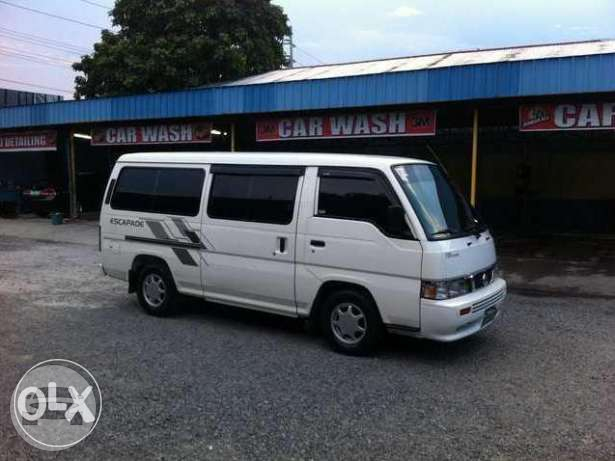 Nissan Escapade Van Van  / Quezon City, Metro Manila   / Airport Transfer ₱3,000.00  / Daily ₱4,500.00