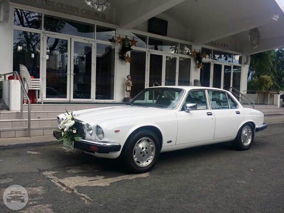 1969 Jaguar XJ6 (White Vintage)   A Perfect Day WedCar Luxury Bridal ...