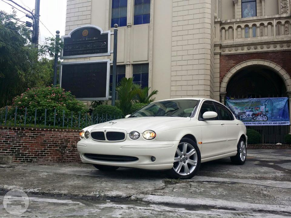 2009 Jaguar X-Type (White) Sedan  / Makati, Metro Manila   / Hourly ₱0.00