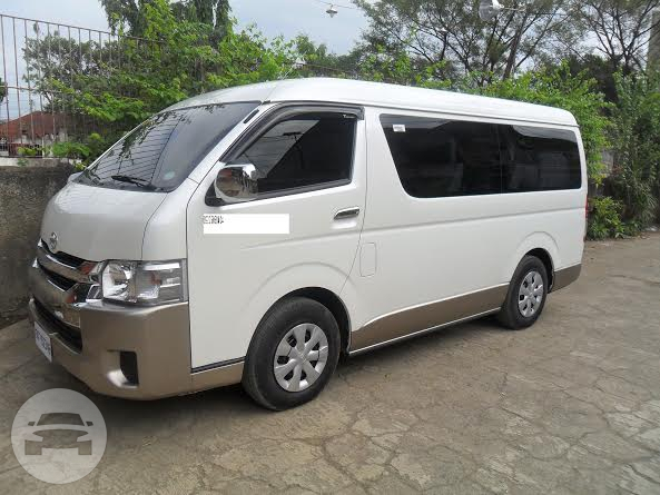 TOYOTA HI-ACE Van  / Cebu City, Cebu   / Airport Transfer ₱1,000.00  / Daily ₱3,500.00