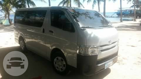 Toyota Hiace Commuter Van Van  / Mandaue City, Cebu   / Airport Transfer ₱900.00  / Daily ₱3,500.00