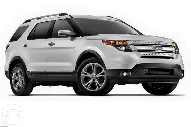 2015 Ford Explorer (White) SUV  / Makati, Metro Manila   / Hourly ₱0.00