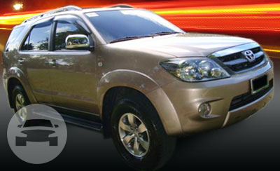 Toyota Fortuner 4×4 Diesel A/T SUV  / Mandaue City, Cebu   / Airport Transfer ₱800.00  / Daily ₱3,000.00