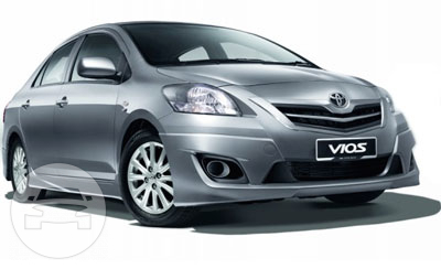 Toyota Vios Sedan  / Mandaue City, Cebu   / Airport Transfer ₱600.00  / Daily ₱2,500.00