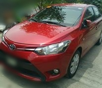Toyota Vios - Red Sedan / Manila, Metro Manila   / Hourly ₱0.00