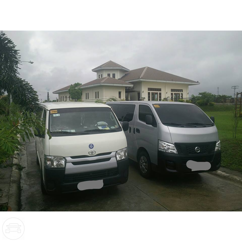 Nissan Urvan Van  / Quezon City, Metro Manila   / Airport Transfer ₱2,500.00  / Daily ₱3,500.00