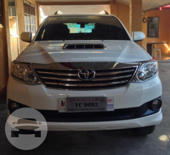 Fotuner SUV / General Santos City (Dadiangas), General Santos City   / Hourly ₱350.00  / Daily ₱4,500.00