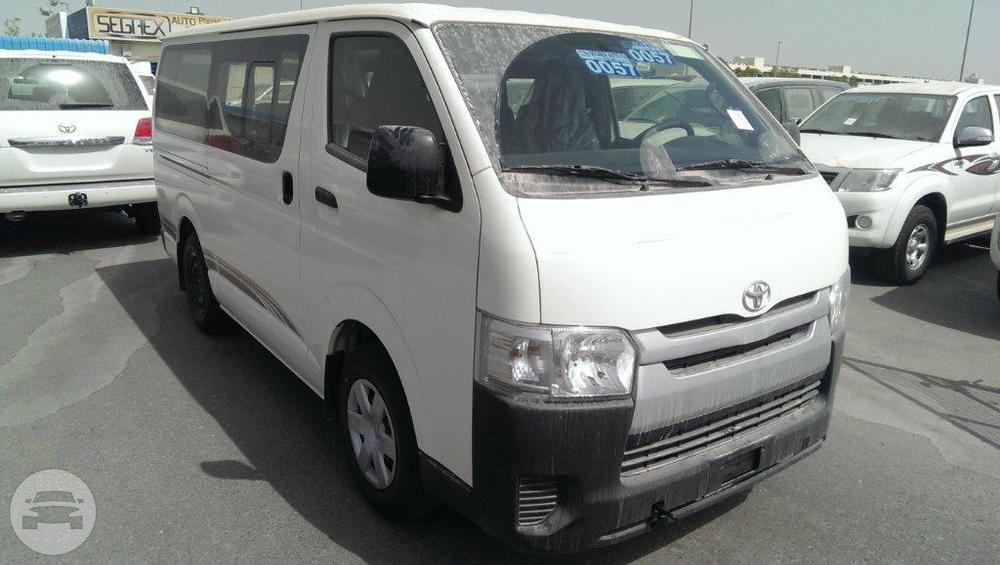 Toyota Commuter 15 Seater Van  / Quezon City, Metro Manila   / Airport Transfer ₱2,500.00  / Daily ₱3,500.00