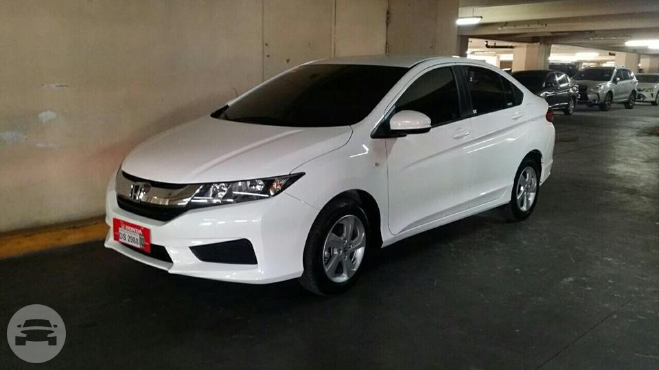 Honda City 2016 1.5 E CVT - White Sedan  / Quezon City, Metro Manila   / Daily ₱2,000.00