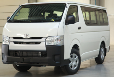 Toyota Hi-Ace Van / Davao City, Davao del Sur   / Hourly ₱350.00  / Airport Transfer ₱1,200.00  / Daily ₱5,200.00