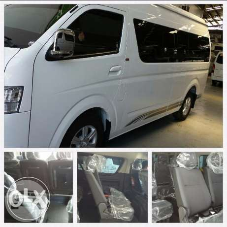 Foton View Traveler 2016 Model  Van  / Cabuyao, Laguna   / Hourly ₱0.00